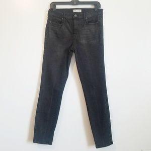 Madewell Black High Waist Skinny Jeans Size 30